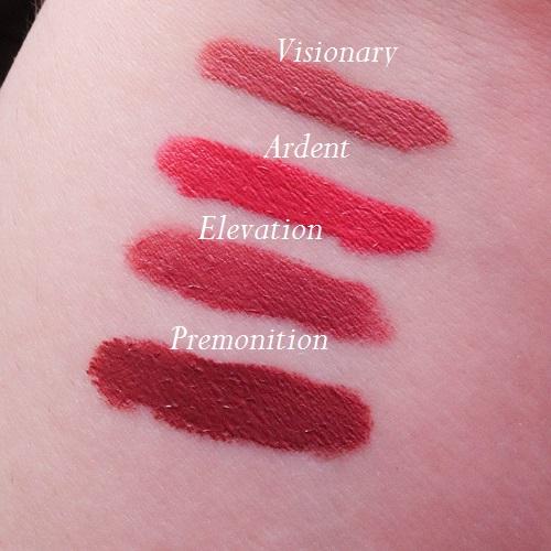 Revolution-Pro-Supreme-Matte-Lip-Pigment-ardent-elevation-premontion-visionary-swatch