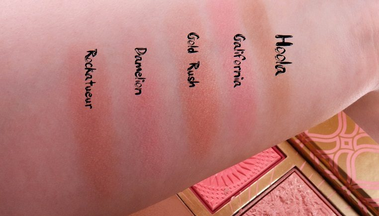 Swatch von blush bar benefit