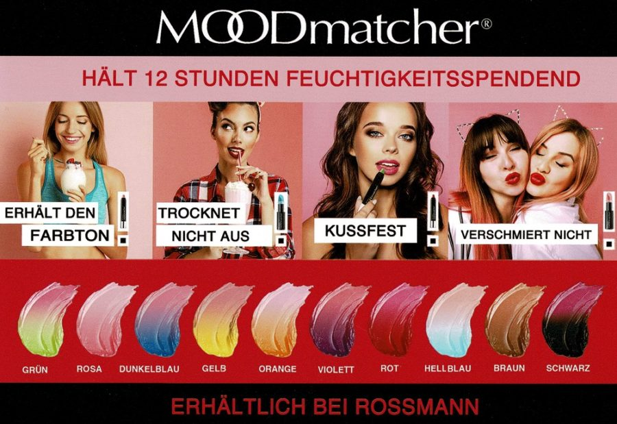 Color Change Lipsticks von Moodmatcher