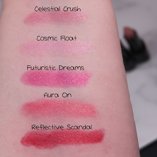 Swatches Prism Lipsticks AVON
