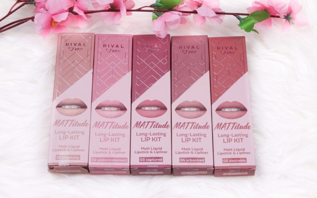 RIVAL loves me MATTitude Lip Kit