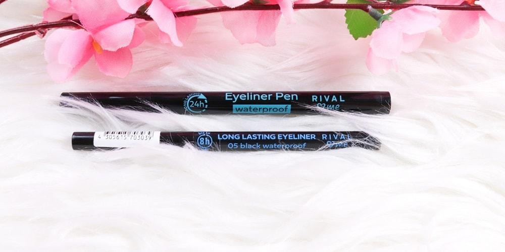 Rival loves me eyeliner pen & Eyeliner