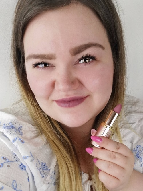 Revolution Pro New Neutrals Blushed Lipstick Seduction