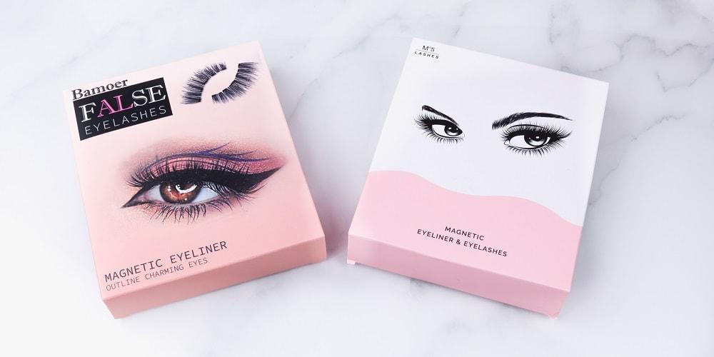 magnetischer Eyeliner & Wimpern Set Amazon im Test