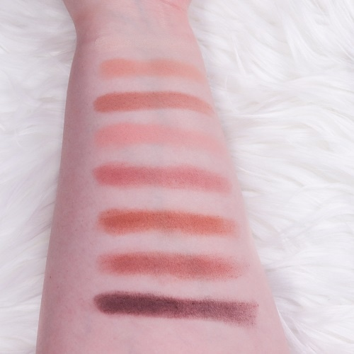 Too Faced Born This Way The Natural Nudes Lidschatten Swatches