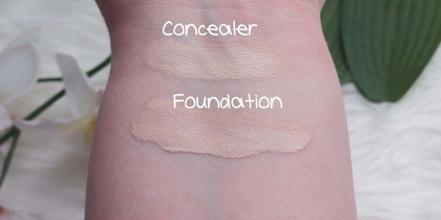 Born To Glow Foundation & Concealer Swatches NYX