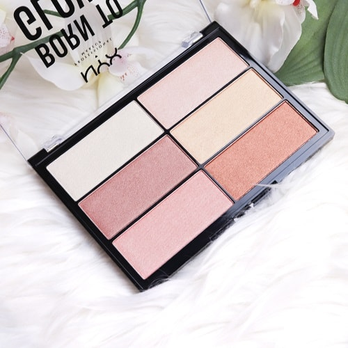 Born To Glow Highlighter Palette NYX