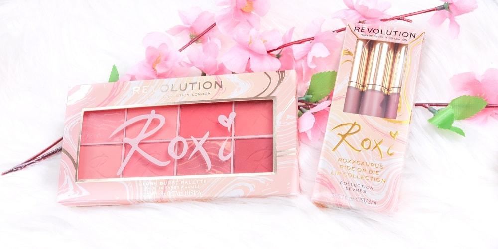 Makeup Revolution Revolution X Roxxsaurus Blush Palette und Lip Collection