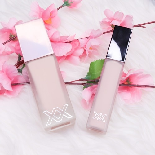 XX Revolution Skin Glow Fauxxdation & ConcealXX Super Fix Concealer