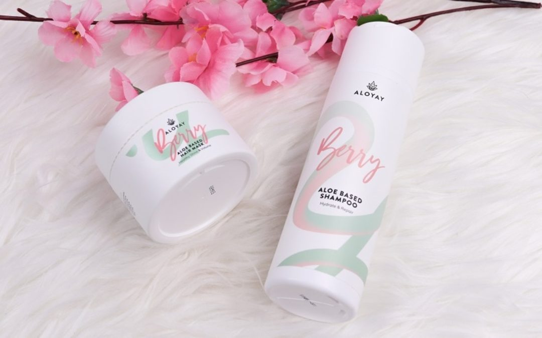 ALOYAY Aloe Berry Shampoo & Hair Mask Set