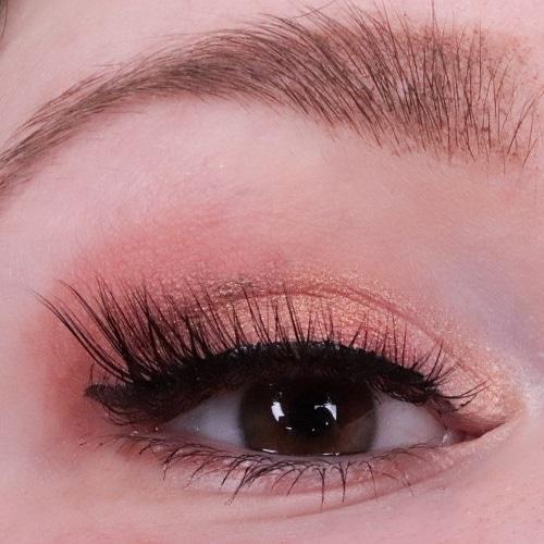charming mocha eyeshadow palette eveline cosmetics amu