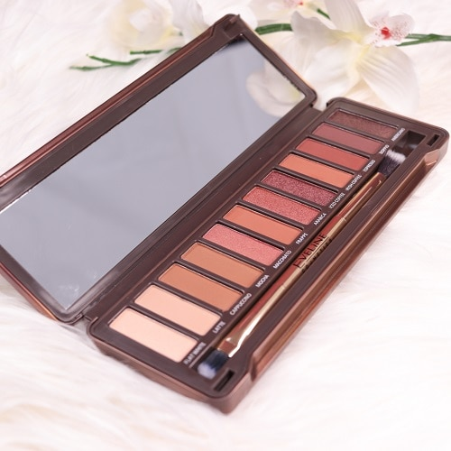 charming mocha eyeshadow palette eveline cosmetics