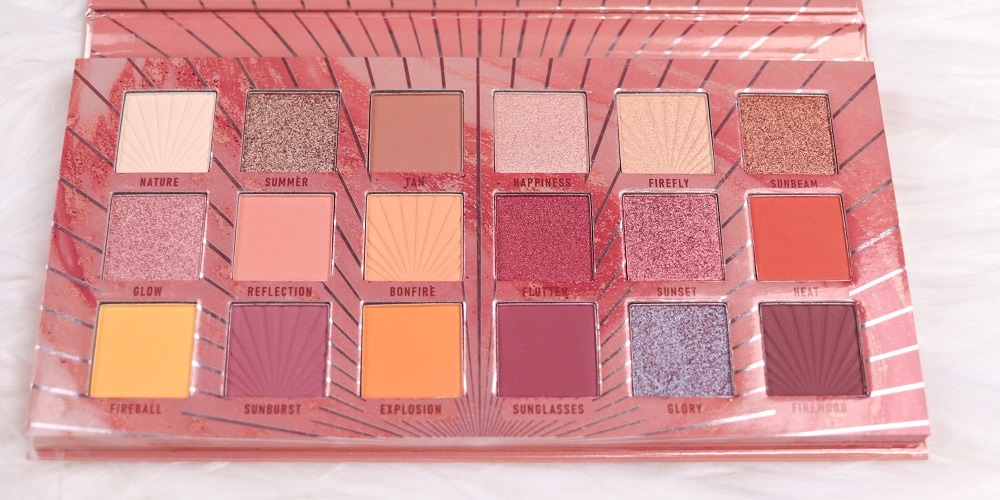 Tansation Reach Up For The Sunrise Palette Catrice Farben