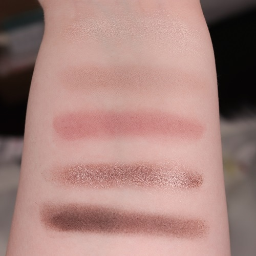 Catrice 5 In A Box Mini Eyeshadow Palette 020 Swatches