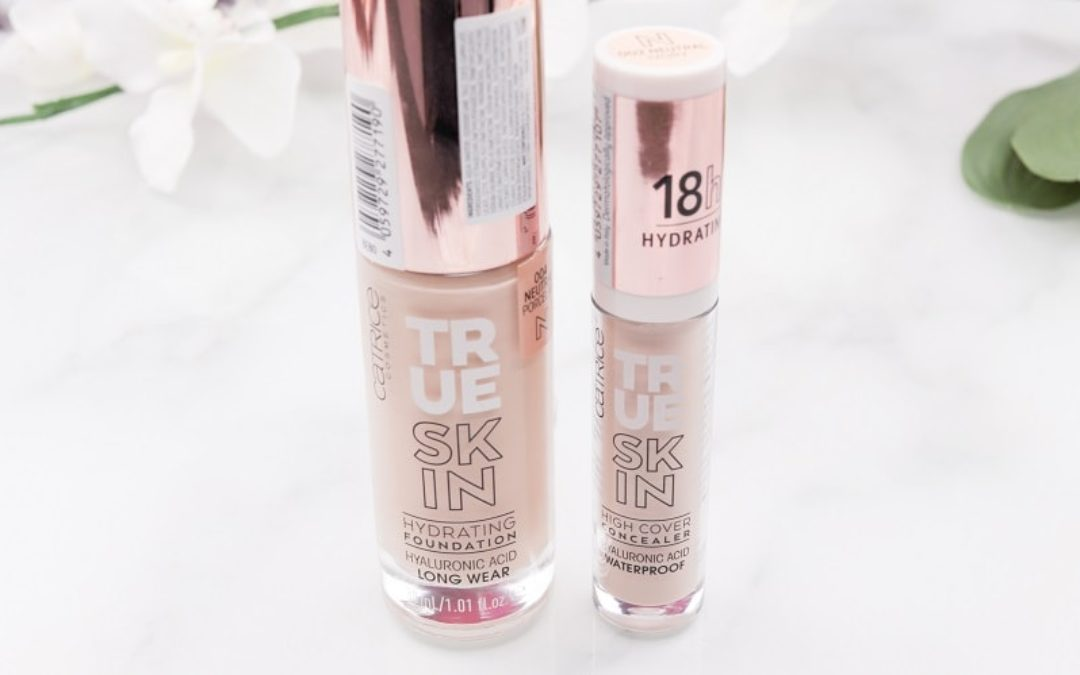Catrice True Skin Hydrating Foundation & High Cover Concealer
