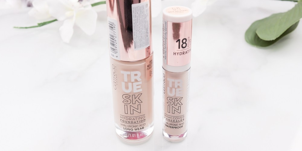 Catrice True Skin Hydration Foundation & High Cover Concealer