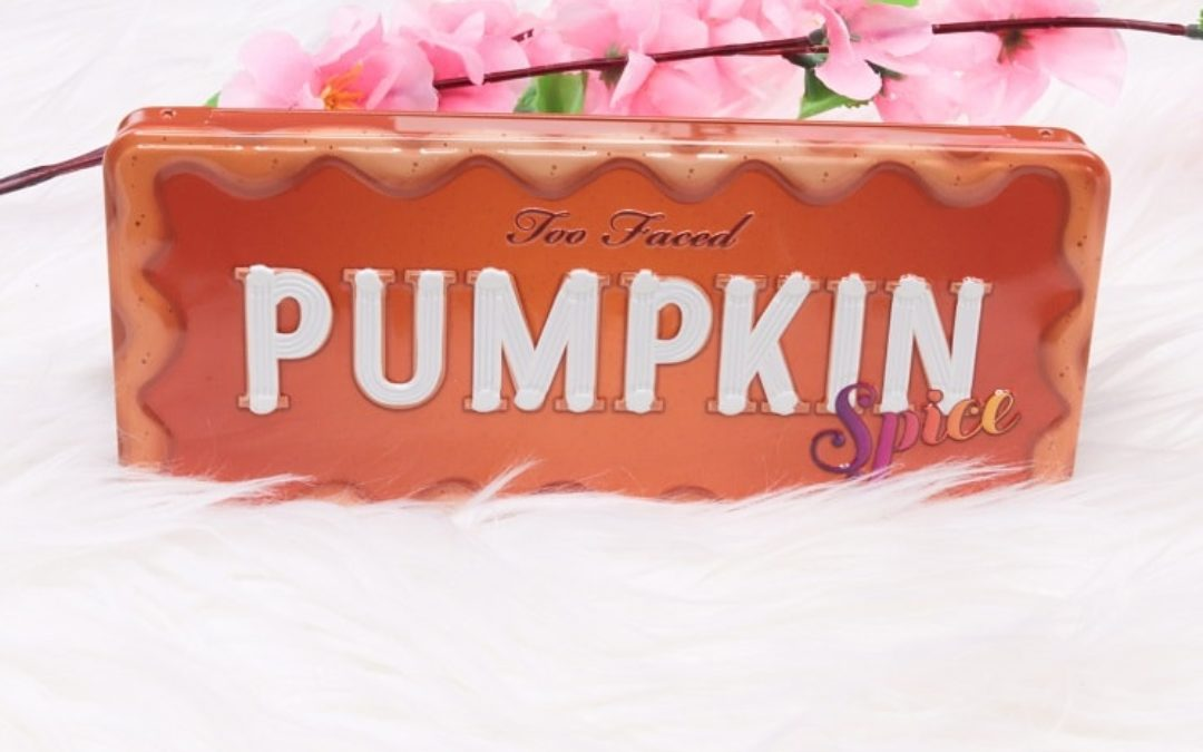 Too Faced Pumpkin Spice Warm & Spicy Lidschattenpalette