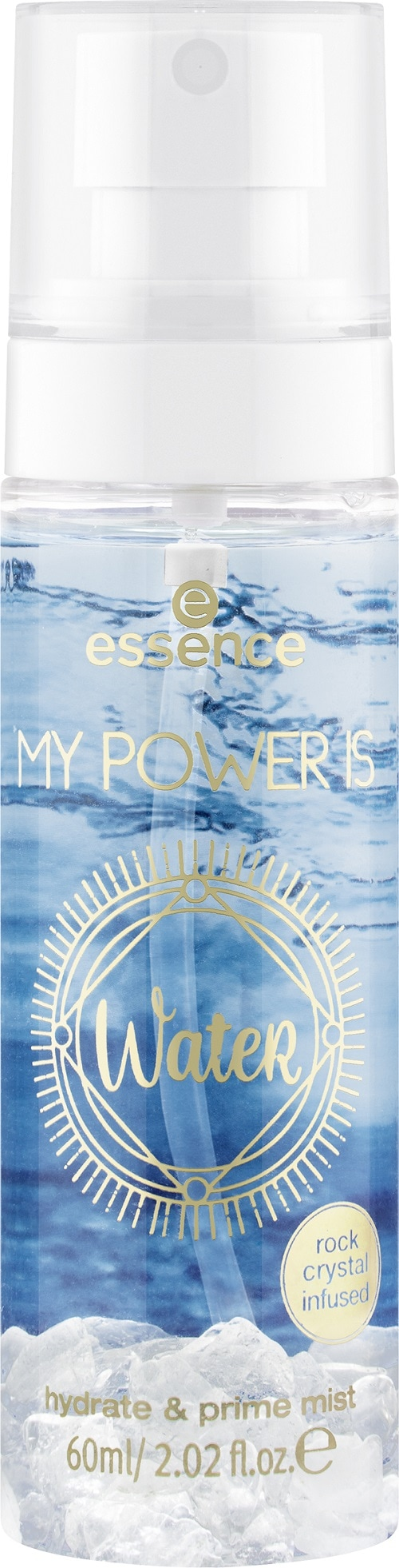 essence MY POWER IS WateR hydrate & prime mist 04