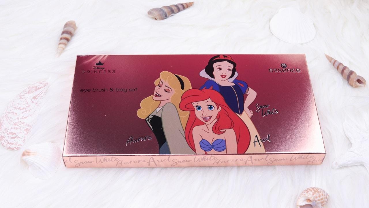essence & catrice Disney Princess eye brush & bag set