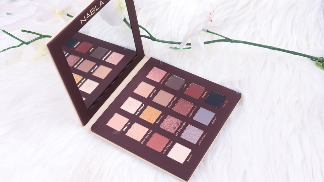 Side By Side Nude Palette von NABLA