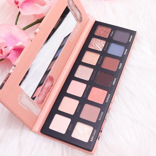 Catrice Pro Peach Origin Slim Eyeshadow Palette Farben