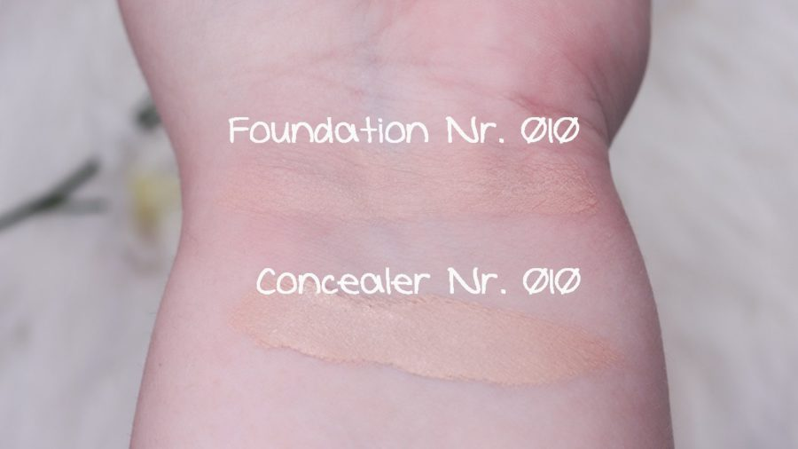 Swatches Clean ID High Cover Luminous Matt Foundation & Concealer