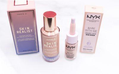 Nabla Skin Realist Tinted Balm vs. NYX Tinted Skin Serum