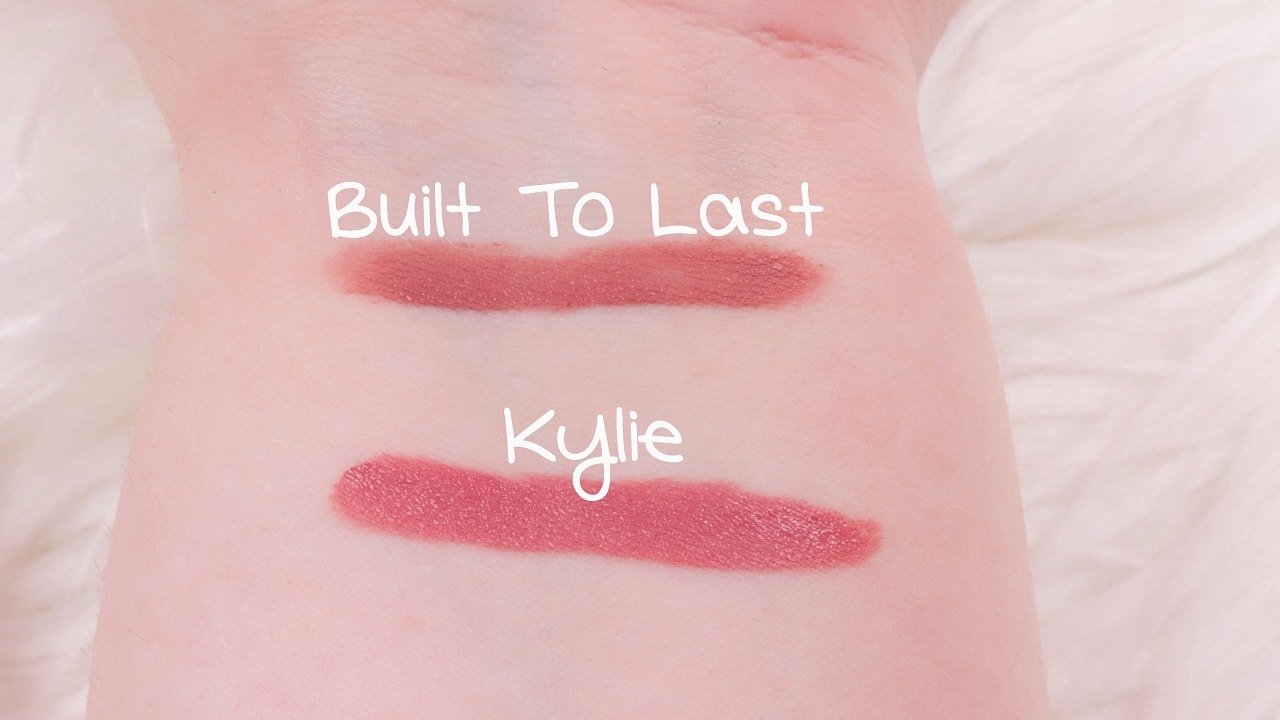 Kylie Cosmetics Liquid Lipsticks Kylie vs. Built to last